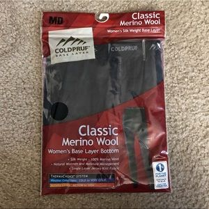 Classic Merino Wool Base Layer Women's Pants MED
